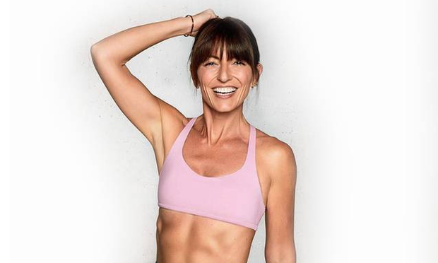 7c9b55f57 Davina McCall has reached new fitness heights - swimming the channel in her  40s and qualifying
