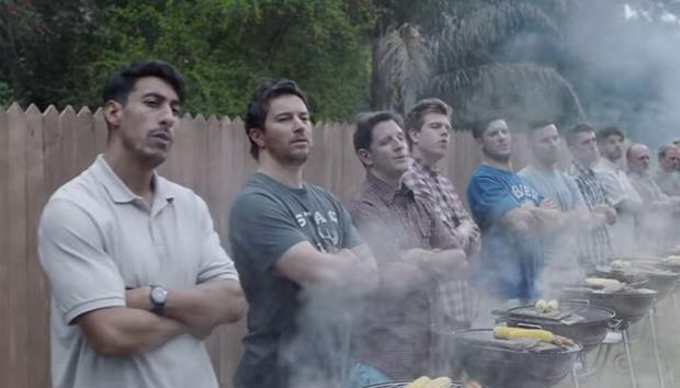 A still from Gillette's new 'We Believe' advertisement