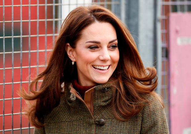 The Duchess of Cambridge visits the Royal Opera House's Costume Department