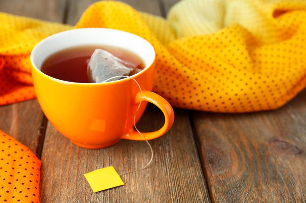 Advice: A typical cup of tea contains more than 30mg of caffeine. Stock picture