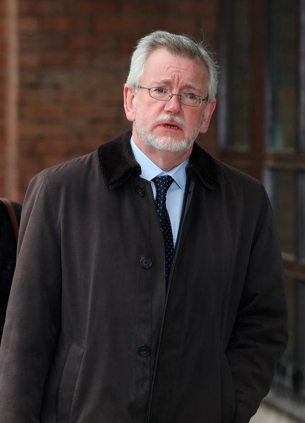 Facing tribunal: Solicitor Declan O'Callaghan. Picture: Collins