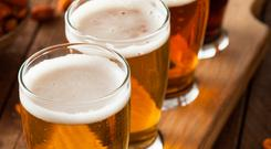 Rising: the price of a pint is on the way up