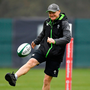 Joe Schmidt will be hoping the training excursion gives the team a boost. Photo: Brendan Moran/Sportsfile