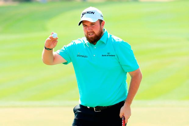 Shane Lowry shoots 62 to equal course record lead Abu Dhabi Classic