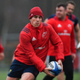 7 January 2019; Ian Keatley during Munster Rugby Squad Training at the University of Limerick in Limerick. Photo by Piaras Ó Mídheach/Sportsfile