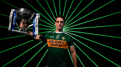 Kerry forward Stephen O'Brien isn't a big fan of the proposed restriction on hand-passes. Photo by Brendan Moran/Sportsfile