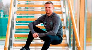 Former Republic of Ireland international Damien Duff was today presented to the media as the Celtic Reserve Team Coach at Celtic's Lennoxtown Training Ground in East Dunbartonshire, Scotland. Photo by Alan Harvey/Sportsfile
