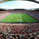 General view of Emirates stadium