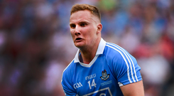 """""""No, there wasn't any training at all. More so, it was going around and visiting these different places,"""" said Dublin's Ciarán Kilkenny. Photo: Piaras Ó Mídheach/Sportsfile"""