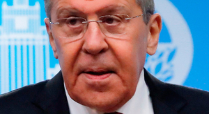 Scoffing: Russia's Foreign Minister Sergei Lavrov. Photo: Reuters