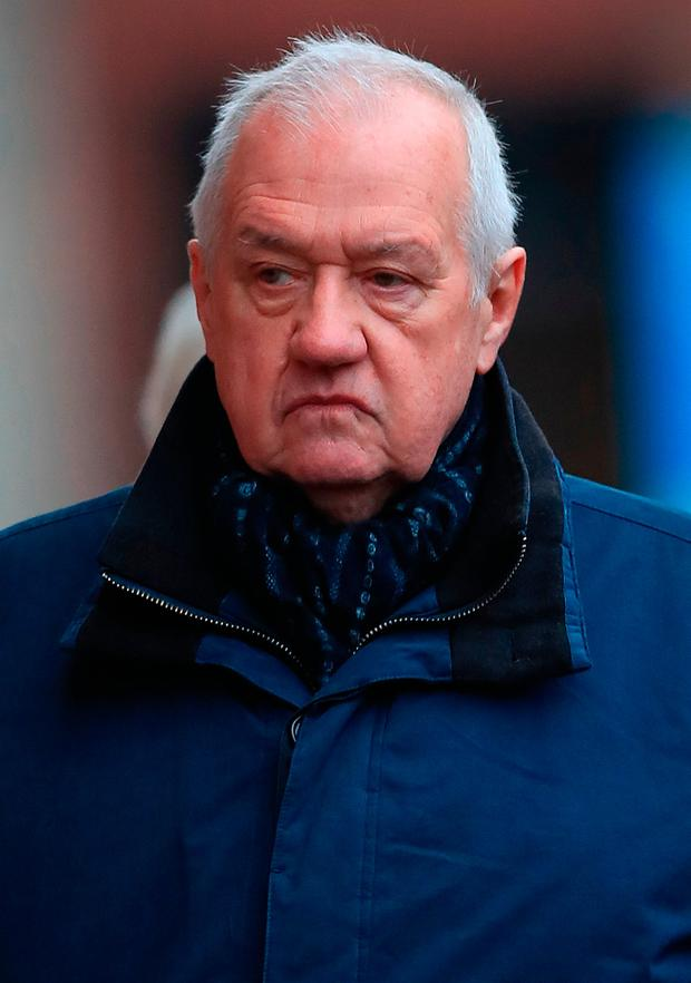 Former police chief David Duckenfield is on trail over the deaths. Photo: Peter Byrne/PA Wire