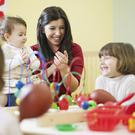 Calculations by the OECD found it would take a quarter of an Irish family's disposable income to pay for the childcare of two children. (Stock photo)