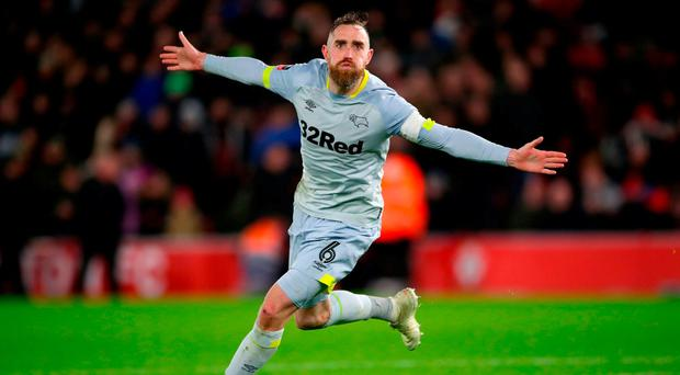 Ireland's Richard Keogh nets shootout winner as Derby knock Southampton out of the FA Cup