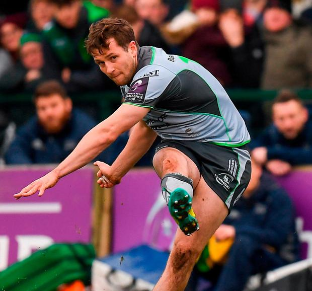 Connacht's Jack Carty. Photo: Harry Murphy/Sportsfile