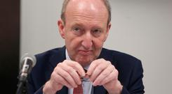Shane Ross: Many in Fine Gael doubt his ability to handle a major crisis. Picture: Damien Eagers