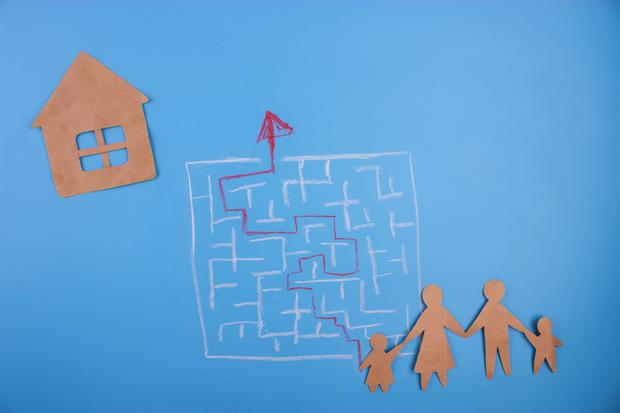 The mortgage maze has just got trickier for buyers to negotiate thanks to bank-induced confusion. Stock image