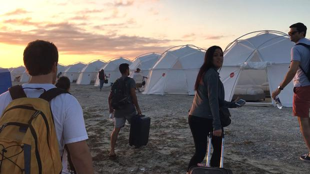 Fyre Festival tents weren't quite the luxury villas the attendees were expecting