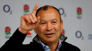 England head coach Eddie Jones during the press conference. Action Images via Reuters/Paul Childs