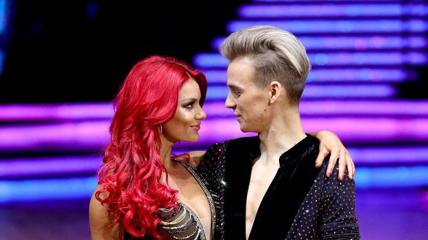 Joe Sugg has said his working relationship with Dianne Buswell has not changed since the pair announced their relationship (Aaron Chown/PA Wire)