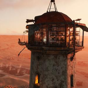 Metro Exodus: The view is pretty good from this lighthouse