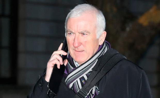 Appeal: Former banking executive Denis Casey leaving the Four Courts Photo: Collins Courts
