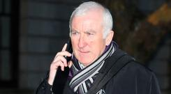 Appeal: Former banking executive Denis Casey leaving the Four Courts yesterday. Photo: Collins Courts