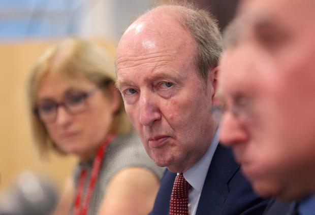 On hold: Shane Ross was informed of how his crackdown played out in rural areas. Photo: Damien Eagers