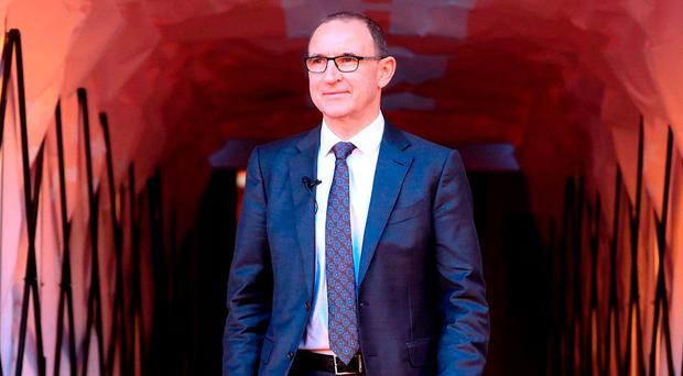 New sheriff in town: Martin O'Neill walks down the tunnel at the City Ground as he is unveiled as new Nottingham Forest manager. Photo: Mike Egerton/PA Wire