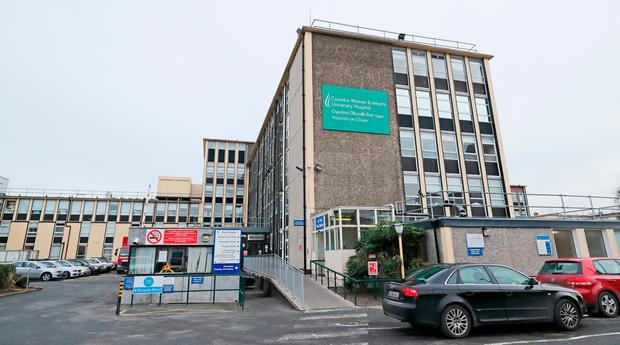 The Coombe Hospital is currently the only one of the three main maternity hospitals which is not providing full service under the abortion law. Photo: PA