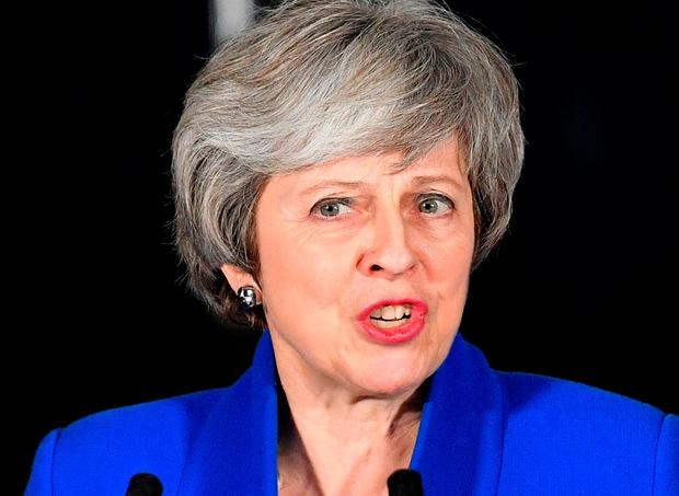 Ballot box: Theresa May is under increasing pressure since the UK parliament rejected her Brexit plan. Photo: AFP/Getty Images