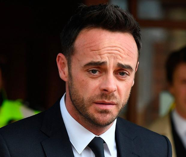 Ant McPartlin was absent from 2018's I'm A Celeb. Photo: Getty