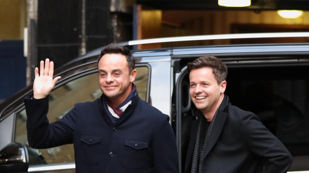 Ant McPartlin returned to present Britain's Got Talent alongside Declan Donnelly (Jonathan Brady/PA)
