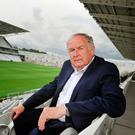Doctor in the house: Dr Con Murphy, picutred at the re-developed Pairc Ui Chaoimh, is a legend of the game. Photo: Daragh Mc Sweeney/Provision