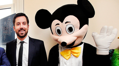 Mickey Mouse policy: Housing Minister Eoghan Murphy is expected to be ousted this year. Picture: Steve Humphreys