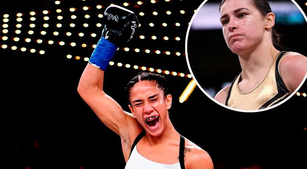 WATCH: 'She better be ready for me' - Amanda Serrano calls out Katie Taylor after demolishing opponent inside 40 seconds