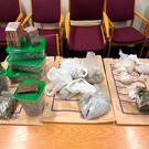 Drugs seized during a garda raid on a property in Drimnagh. Photo: Garda Press Office, Jan 19, 2019