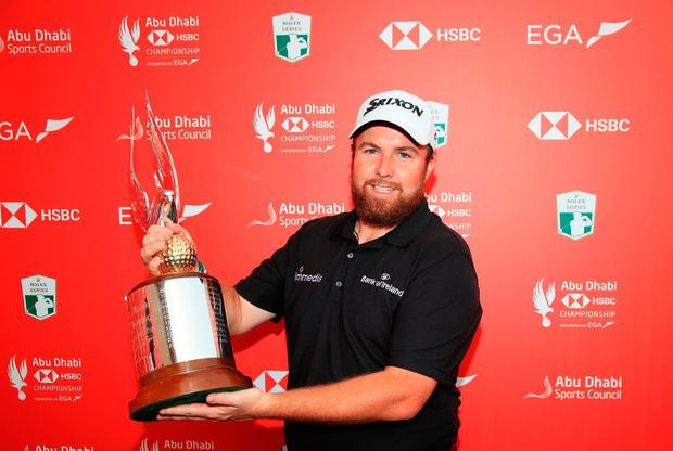 Lowry takes Abu Dhabi title at the last after ding-dong Sterne battle