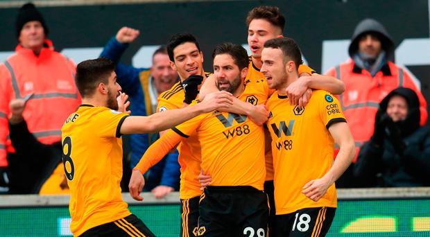 Jota hat-trick fires Wolves to dramatic win over Leicester in seven-goal thriller
