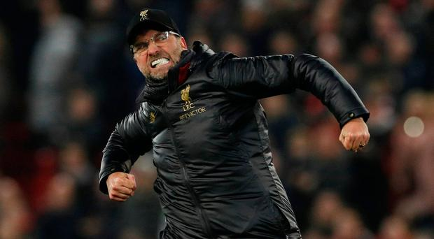 Liverpool maintain title race advantage after coming from behind in high-scoring Crystal Palace clash
