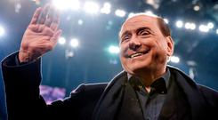 Silvio Berlusconi will be contesting the European parliament elections in May. Photo: Getty