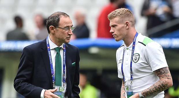 Martin O'Neill hoping to reunite with James McClean as Nottingham Forest look to secure deal with Stoke