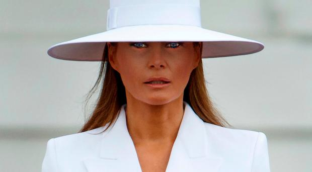 Unlike previous marriages, Melania lets Donald do his own thing and has no apparent interest in power. She simply wanted security which her husband can provide. Photo: AP