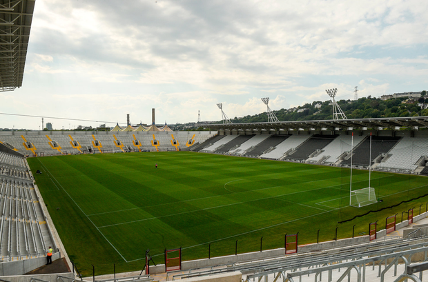 The ambition of Cork GAA is buried in the sand and cement of the new ground — a disgraceful waste of money. Photo: Matt Browne/Sportsfile