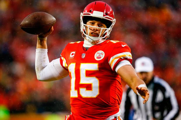 While Patrick Mahomes of the Kansas City Chiefs can cheerfully chew the fat with journalists the week of a big game, Premier County hurlers can't take a risk like that. Photo: Getty Images
