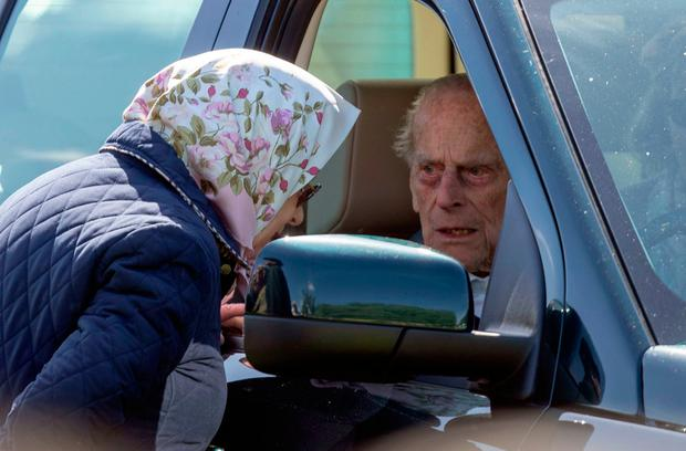 File photo datedof the Duke of Edinburgh, 97, who was left