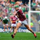 Burke kept the scoreboard ticking over. Photo by Brendan Moran/Sportsfile