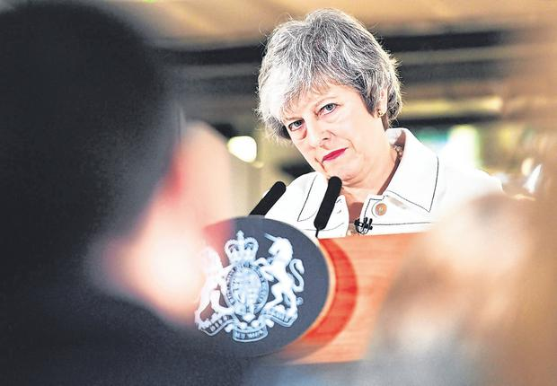 Theresa May has defied calls for a second referendum. Photo: BEN BIRCHALL/AFP/Getty Images
