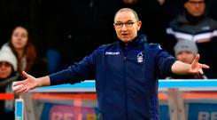 Nott a good start: Martin O'Neill reacts on his return to the dugout during Nottingham Forest's defeat to Bristol City on Saturday. Photo by Mark Thompson/Getty Images