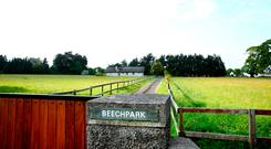 Beechpark, the former home of the late Liam Cosgrave, on Scholarstown Road, Knocklyon. Photo: Gerry Mooney