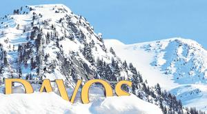 The annual World Economic Forum meeting takes place in Davos, Switzerland, this week. Photo: Stefan Wermuth/Bloomberg